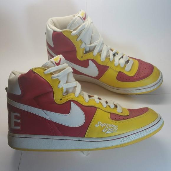 Desierto monstruo borde  Nike Shoes | 04 Terminator Hi Supreme Court Sz 12 | Poshmark